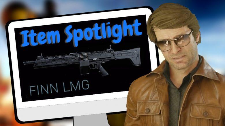 cod warzone item spotlight waffe finn lmg titel