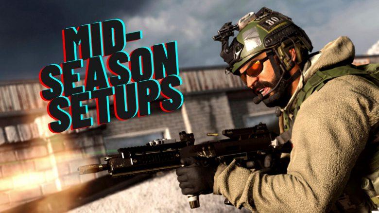 cod warzone waffen midseason setup 2 titel