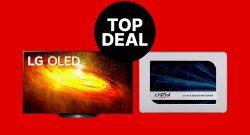 MediaMarkt Angebote: LG OLED 4K TV mit HDMI 2.1 & Crucial SSD