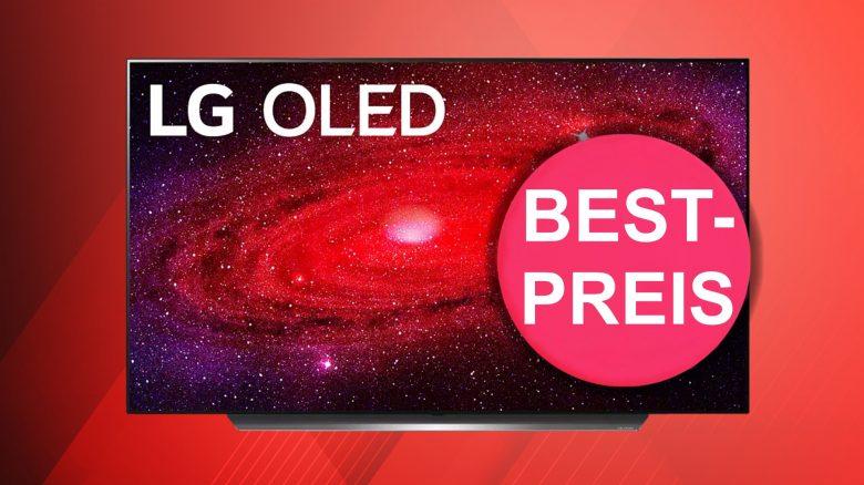 MediaMarkt: LG OLED-TV CX9 in 55 Zoll zum bisher günstigsten Preis