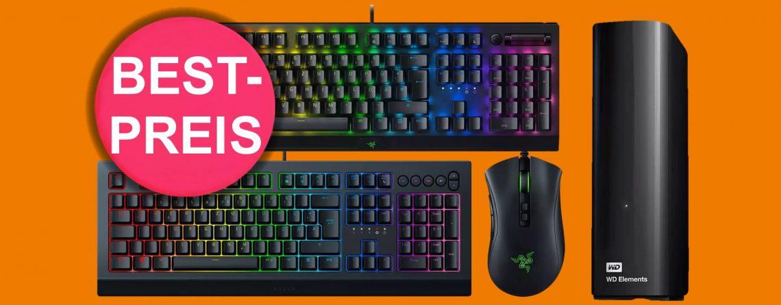 Saturn: Razer-Tastaturen zum Bestpreis, externe HDDs reduziert und mehr