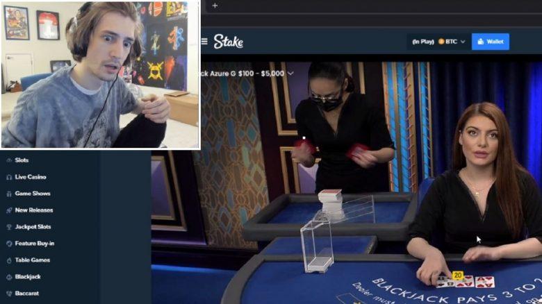 xQc streamt Casino vor 120.000 Leuten auf Twitch – Versteht die ganze Kritik nicht