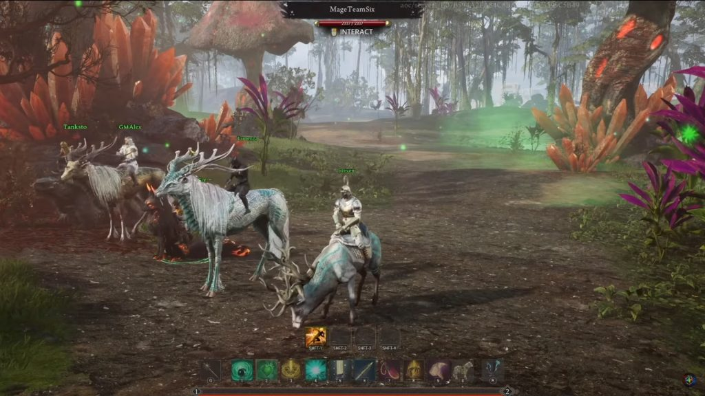 Ashes of Creation Ingame