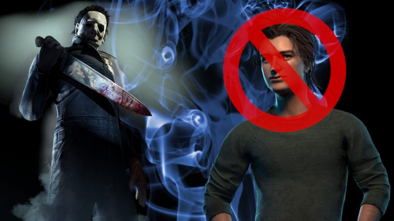 Dead by Daylight Myers Steve Harrington banned titel title 1280x720