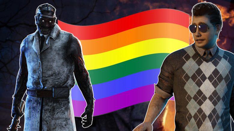 Dead by Daylight Pride Flag Dwight Doctor titel title 1280x720