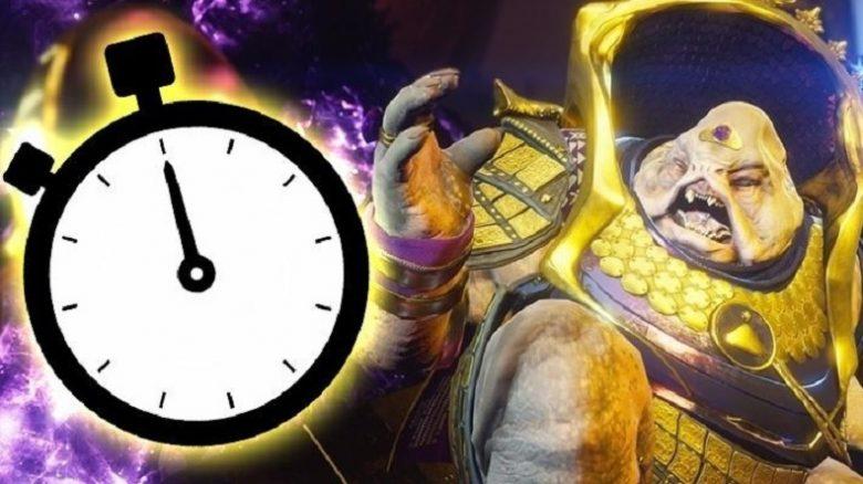 Destiny Time Calus Titel Uhr