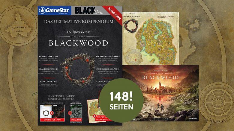 ESO: Schnappt euch unser Sonderheft zu Blackwood – Alles zur neuen Erweiterung des MMORPGs