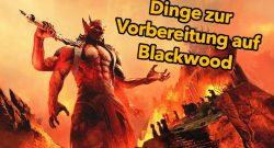 ESO: 5 Dinge, die ihr zur Vorbereitung auf Blackwood tun könnt