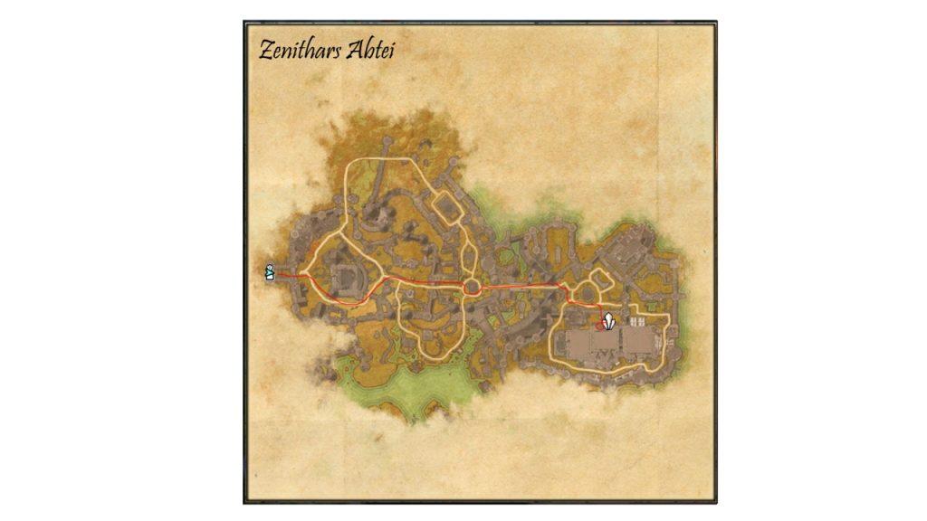 ESO Dunkelforst - Himmelsscherbe 17 Zenithars Abtei Karte fertig