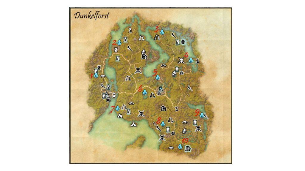 ESO Karte Dunkelforst fertig
