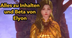Elyon Infos vor Beta Titel