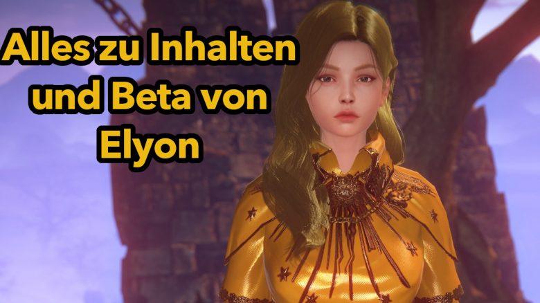 Elyon: 7 Dinge, die ihr vor dem Start der Beta zum neuen MMORPG wissen müsst