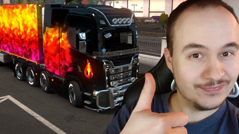 """Endlich muss ich für den Multiplayer in Euro Truck Simulator 2 nicht mehr """"betrügen"""""""