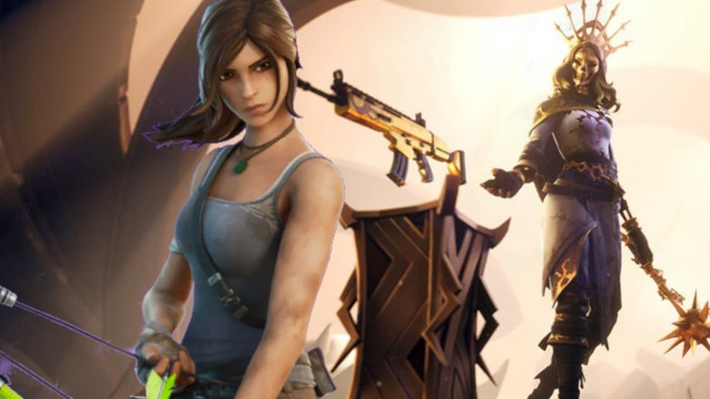 Fortnite Lara Croft Skin Aurelia