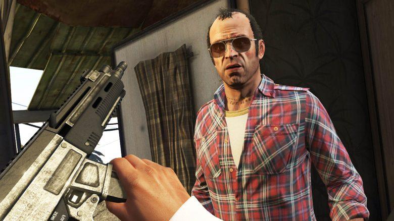 GTA 5 Trevor Waffe Titel