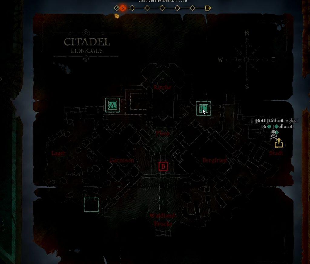 Hood Outlaws & Legends Map
