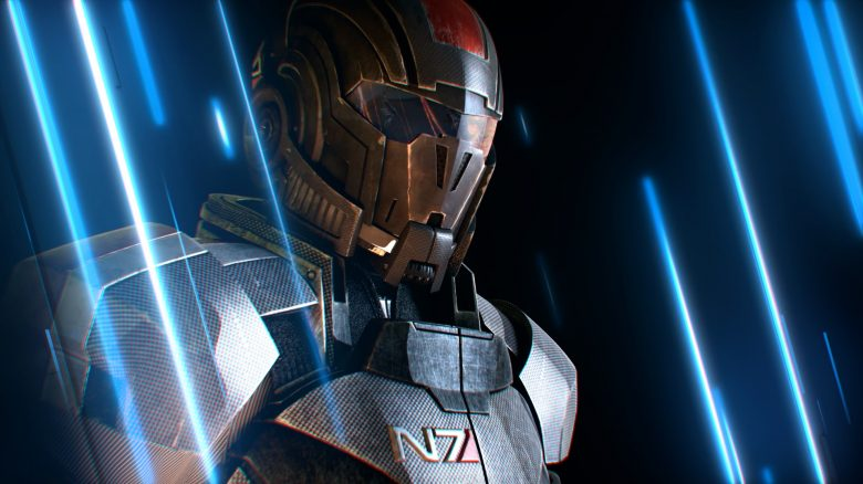 Mass Effect Shepard N7 titel title 1280x720
