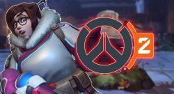 Overwatch Mei shocked Logo of Overwatch 2 titel title 1280x720