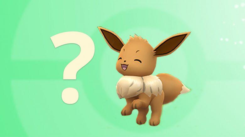 Pokémon GO Evoli Fragezeichen Titel