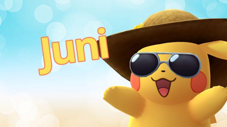 Pokémon GO Pikachu Juni Titel