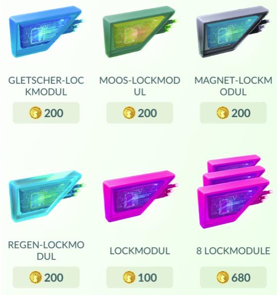 Pokemon Go Regen Lockmodul