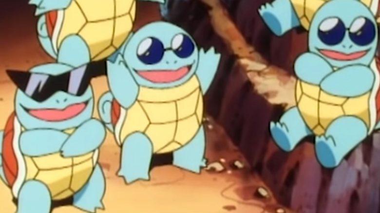 Pokémon GO Schiggy Meute Titel