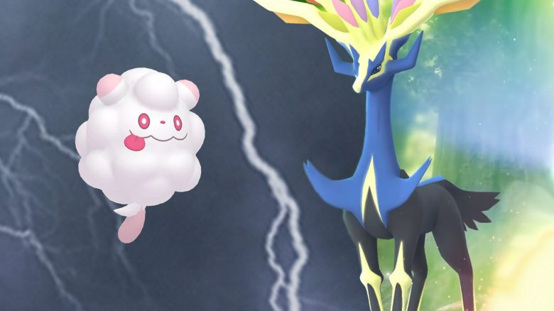 Pokémon GO Xerneas Flauschling Titel