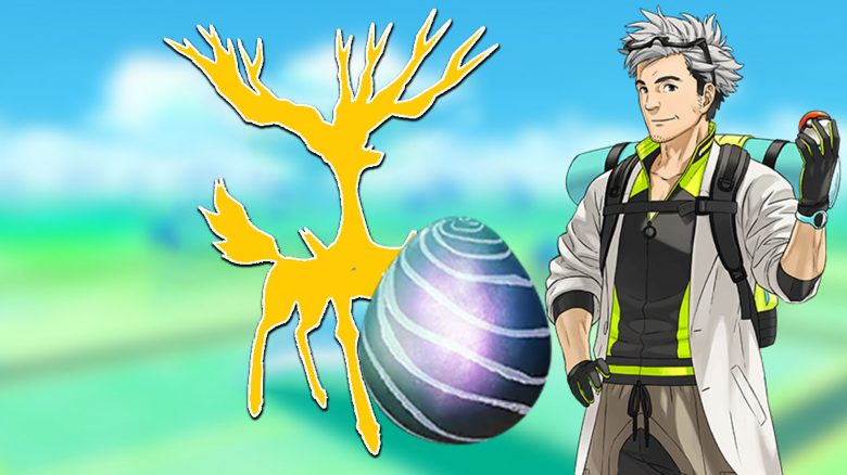 Pokémon GO Xerneas Raid Titel