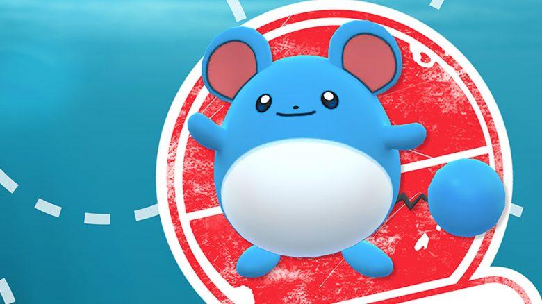 Pokémon GO marill Tag Titel