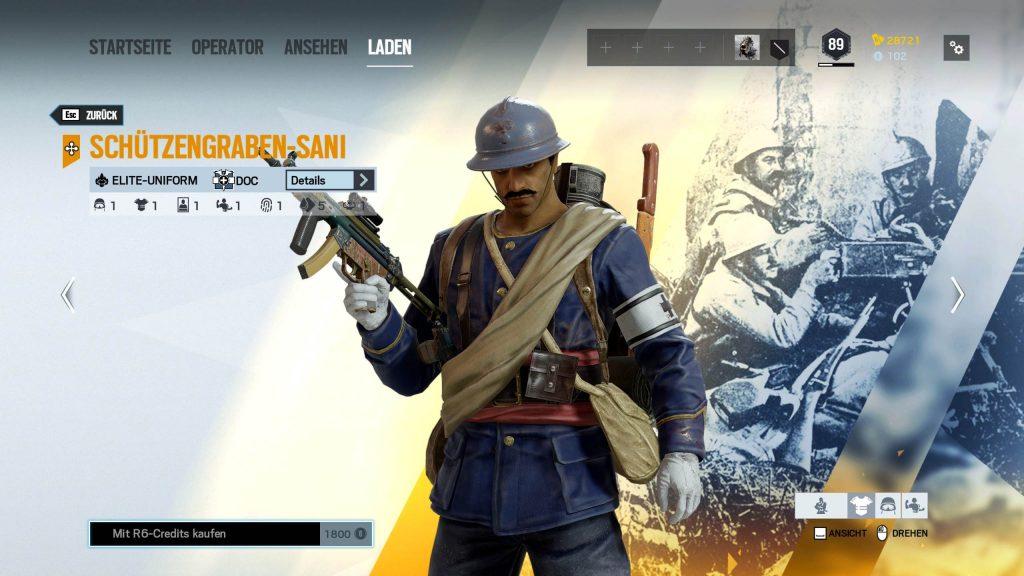 Rainbow Six Siege Elite Skins Doc