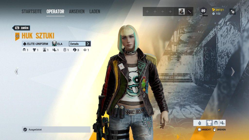 Rainbow Six Siege Elite Skins Ela
