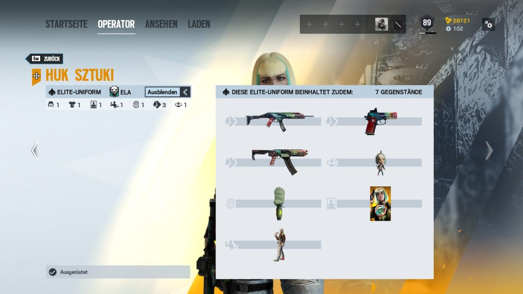 Rainbow Six Siege Elite Skins Ela Zusatz