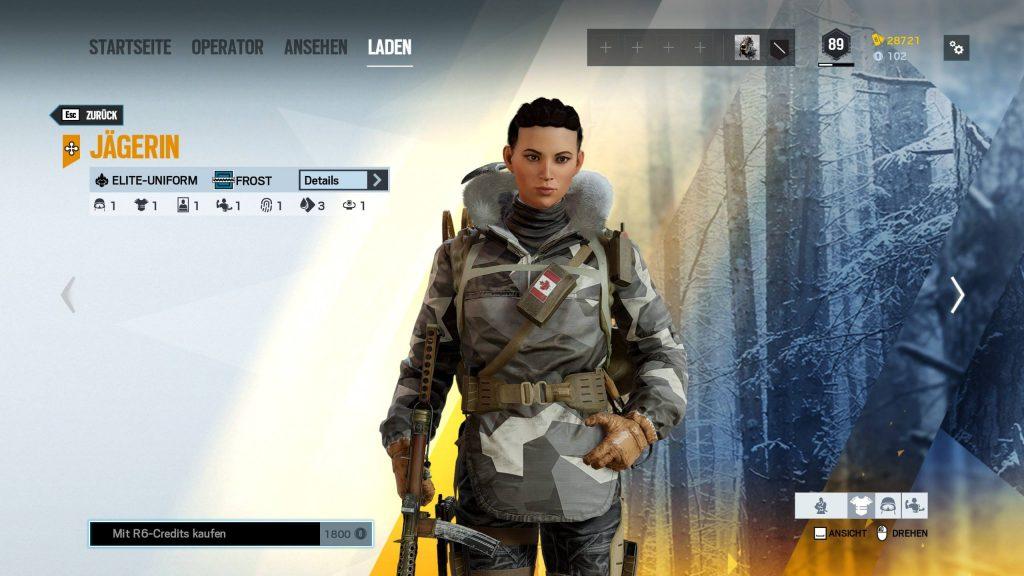 Rainbow Six Siege Elite Skins Frost