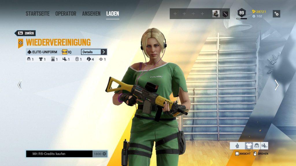 Rainbow Six Siege Elite Skins IQ