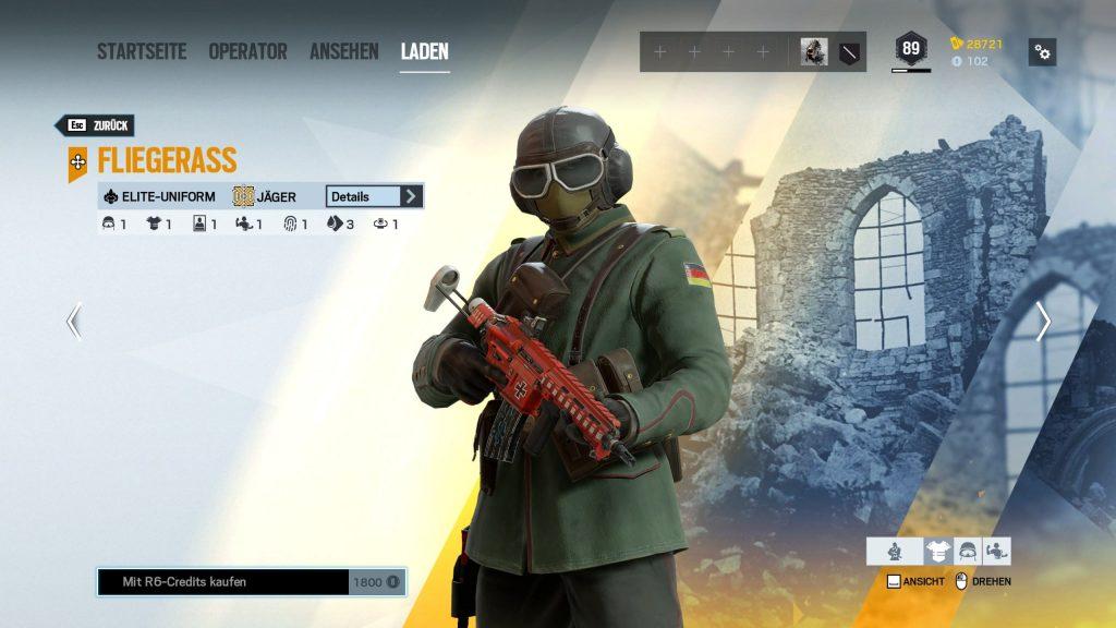 Rainbow Six Siege Elite Skins Jäger