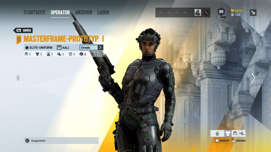 Rainbow Six Siege Elite Skins Kali