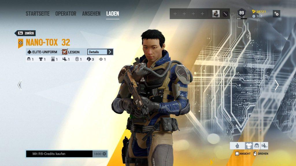 Rainbow Six Siege Elite Skins Lesion