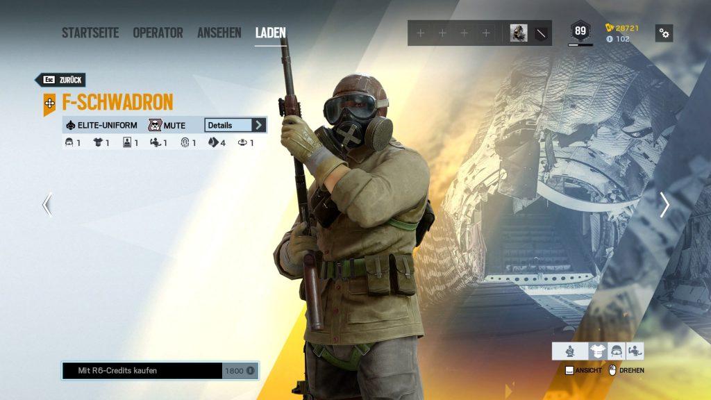 Rainbow Six Siege Elite Skins Mute