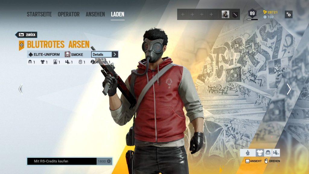 Rainbow Six Siege Elite Skins Smoke