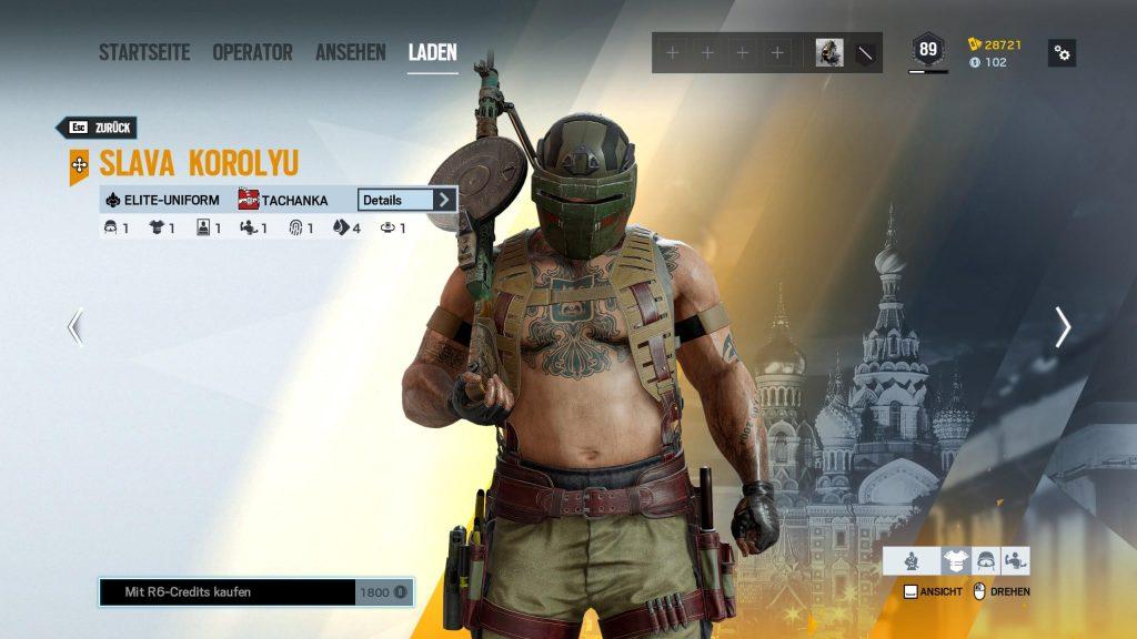 Rainbow Six Siege Elite Skins Tachanka