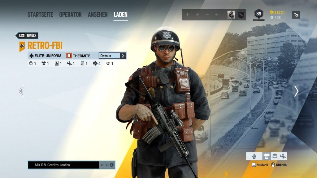 Rainbow Six Siege Elite Skins Thermite