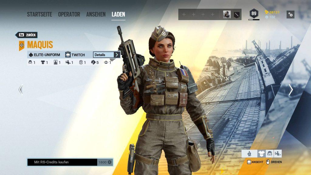 Rainbow Six Siege Elite Skins Twitch