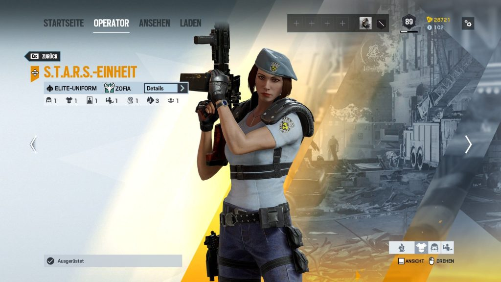 Rainbow Six Siege Elite Skins Zofia 2