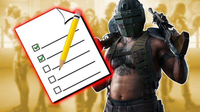 Rainbow Six Tachanka Elite Skin Liste Titel