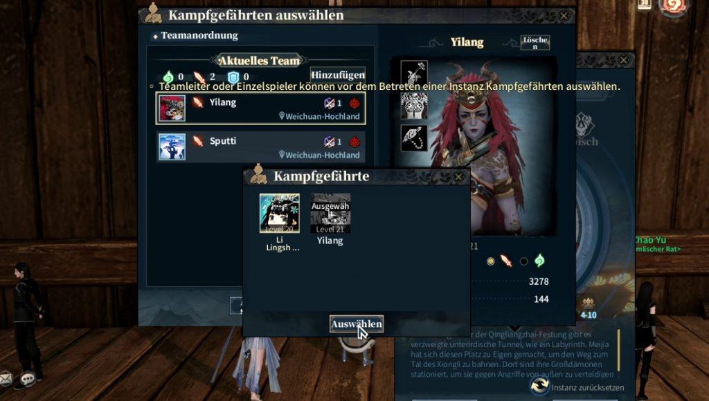 Swords of Legends Dungeon Kampfgefährten