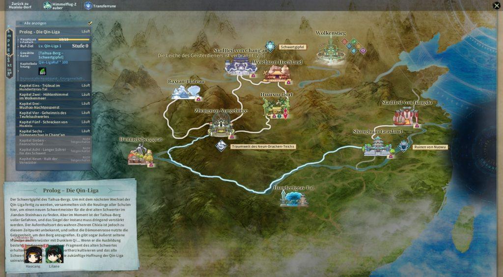 Swords of Legends Map
