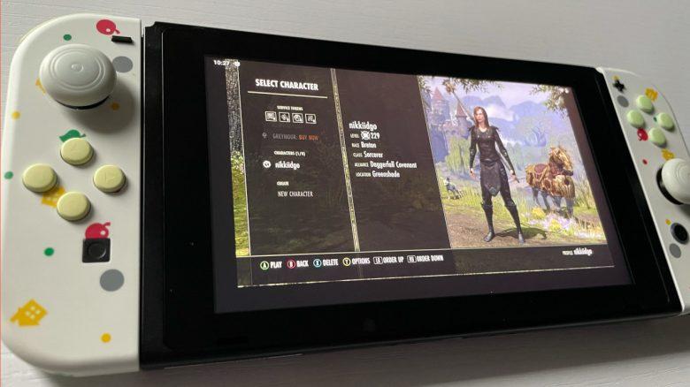 Titelbild ESO auf der Nintendo Switch