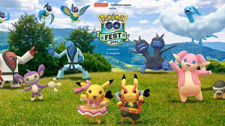 GO Fest 2021 Pokemon GO