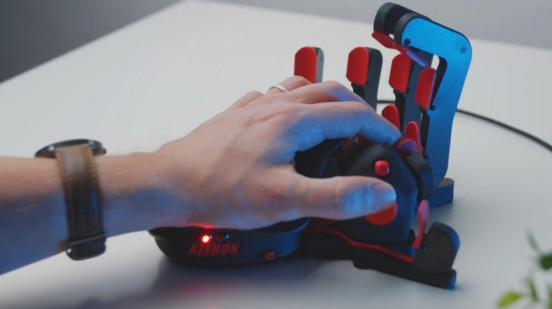 Zocken mit Tastatur ist euch zu langweilig? Dann probiert diese verrückte Hand aus