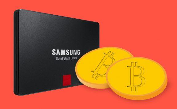 Titelbild SSD und Krypto-Währung